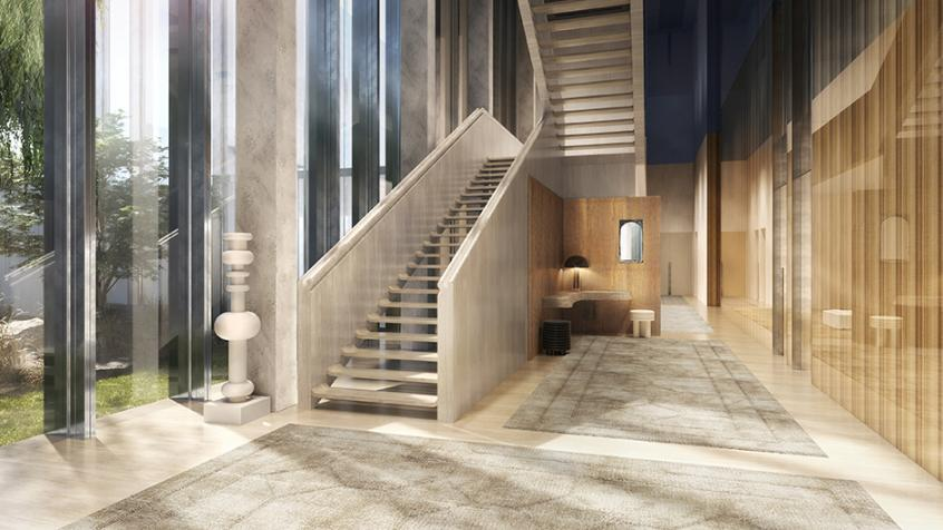 RENAISSANCE-architect view stairs-case study Ardian Real Estate